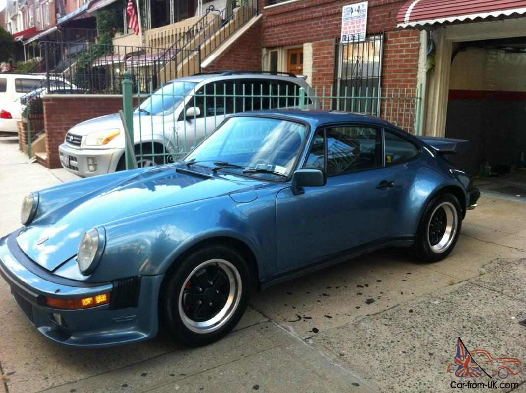 1980 Pacific Blue Porsche 930 Turbo Low Miles 33k
