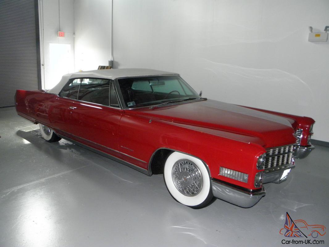 1966 Cadillac Eldorado Base Convertible 2-Door 7 0L