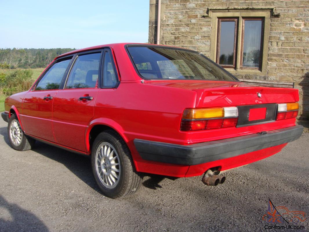 Audi 80 quattro 4 door saloon 1984