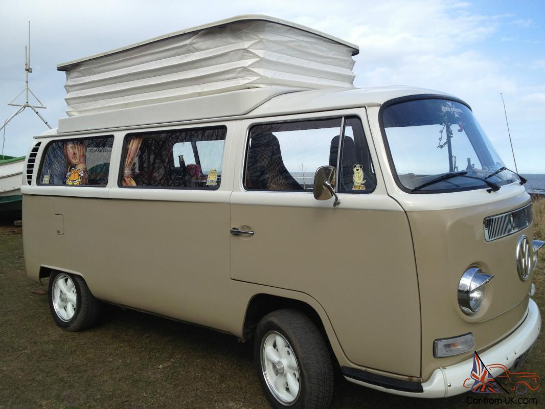 vw campervan t2 early bay 1970