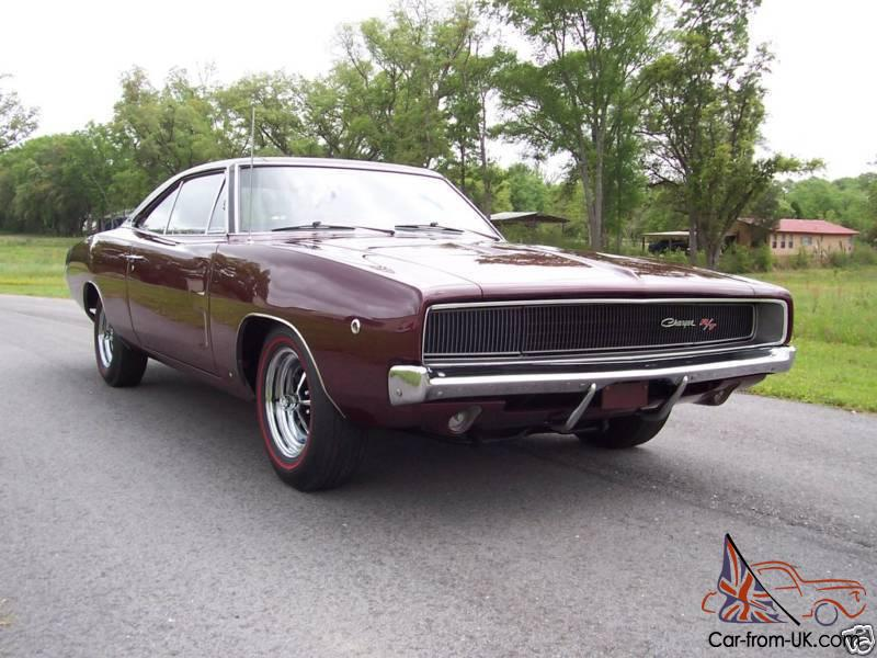 1968 dodge charger r t 440 magnum survivor with documentation 1968 dodge charger r t 440 magnum