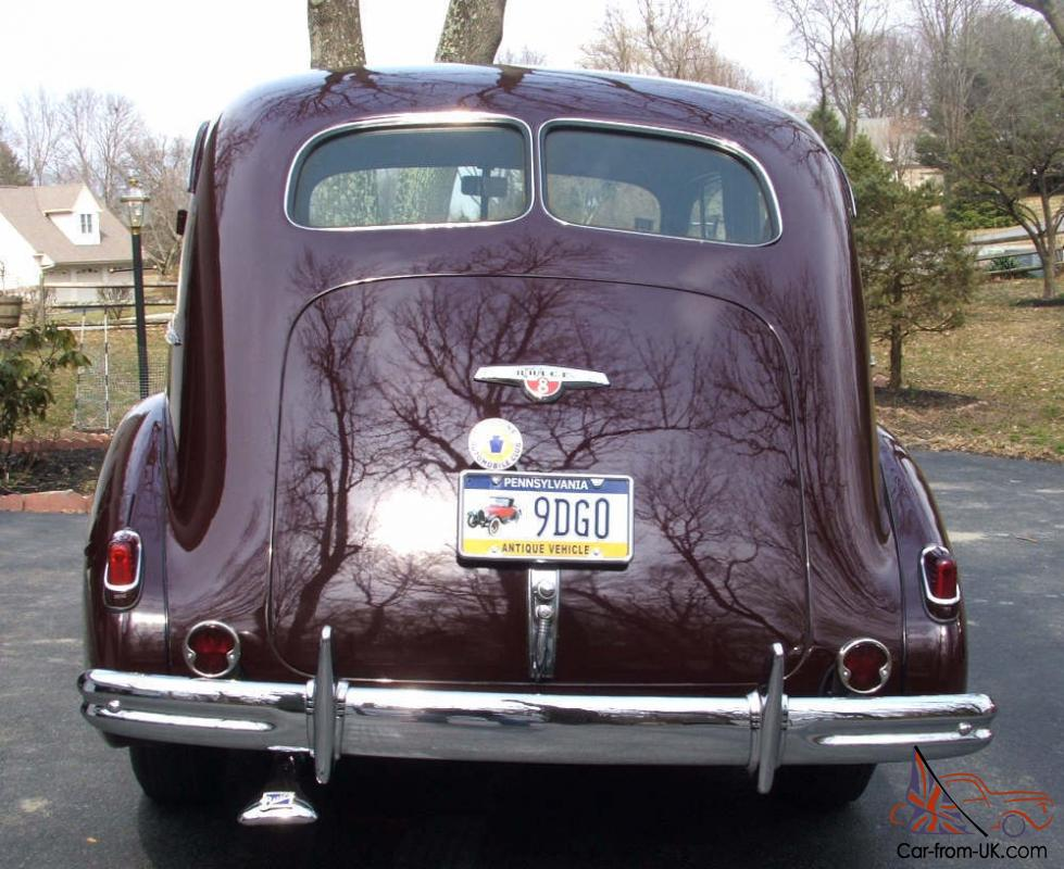 What To Do If Car Overheats >> BUICK SPECIAL 1938 SPORT SEDAN 8 CYL FULL RESTORATION ...