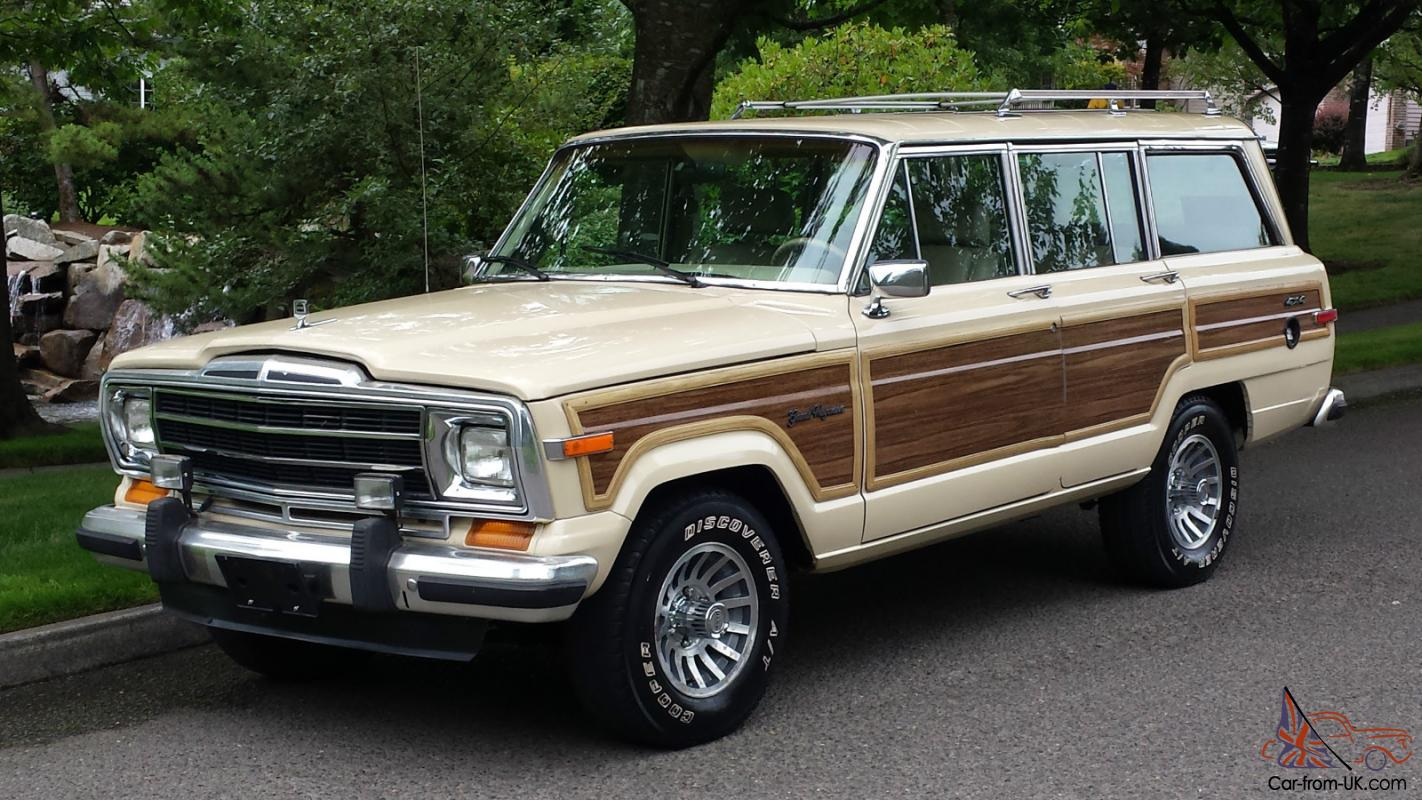 1989 jeep grand wagoneer base sport utility 4-door 5 9l 4x4 automatic photo