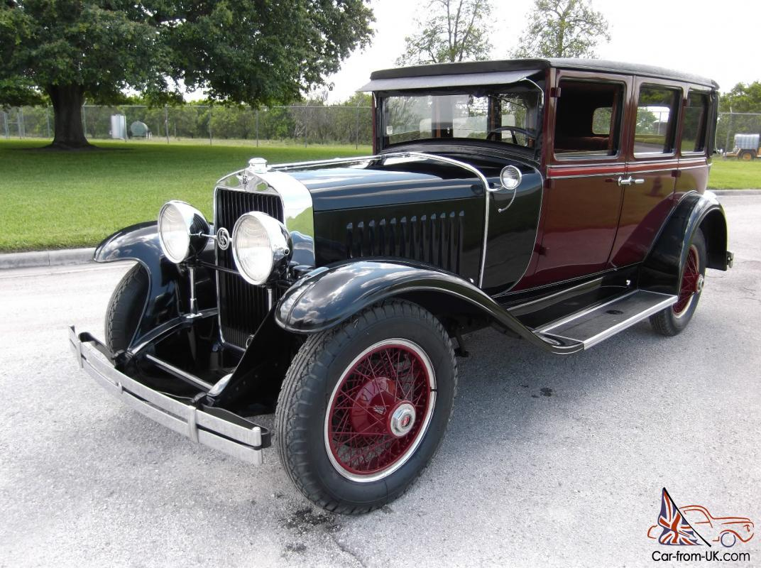 1927 Cadillac Lasalle Sedan First yeart MINT Museum Quality NO RUST or  RESERVE