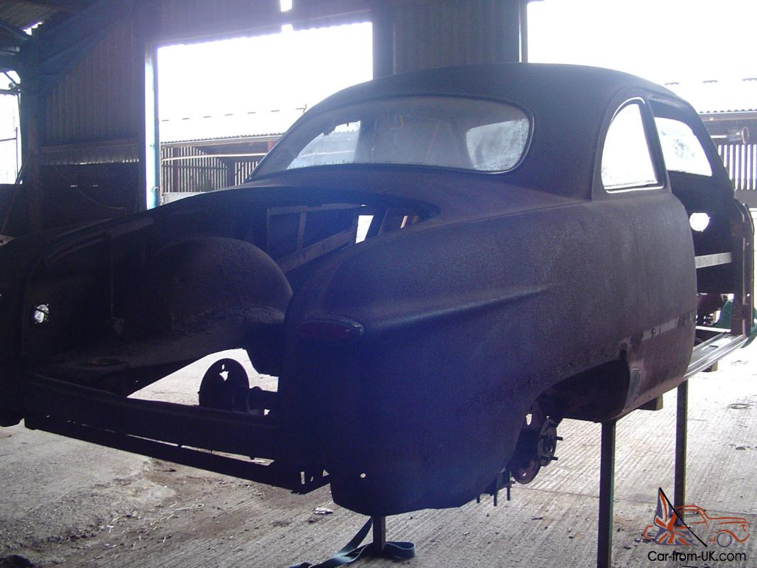FORD TUDOR COUPE 1949 SHOEBOX UNFINISHED HOT ROD PROJECT 1971 MUSTANG 302  ENGINE