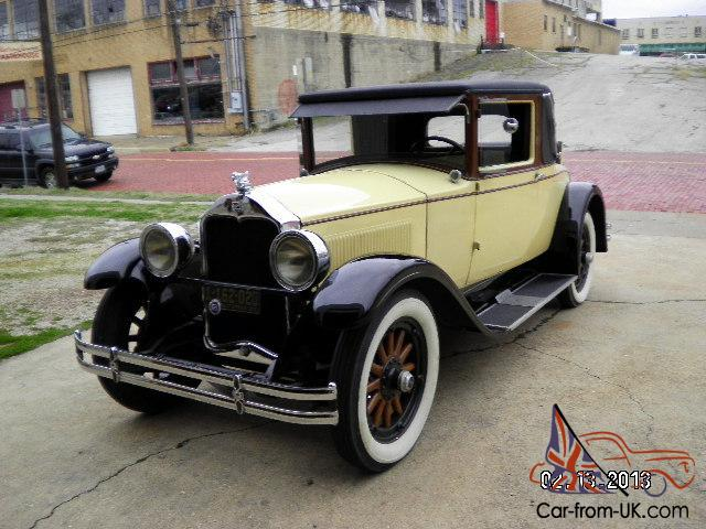 1928 Buick Master Series Country Club Rumble Seat Coupe