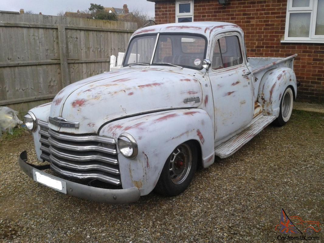 1950 CHEVROLET 3100 5 WINDOW PICKUP RATROD/HOTROD N/R1950s Cars For Sale Ebay