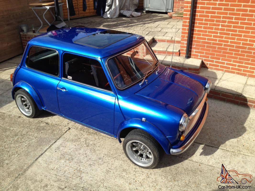 1986 Austin 1000 Mini City E 998cc Blue
