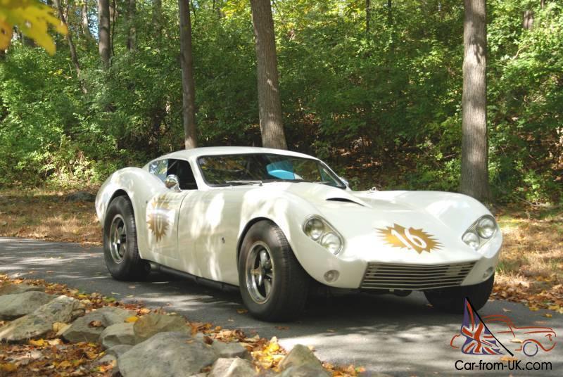 Vintage Sports Car Nostalgia Race Car Kellison 1964 J 5 Coupe