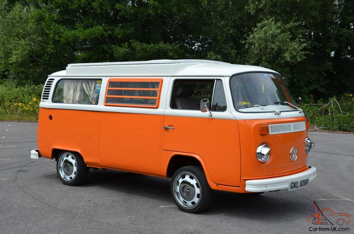 vw camper van  bay westfalia   restored