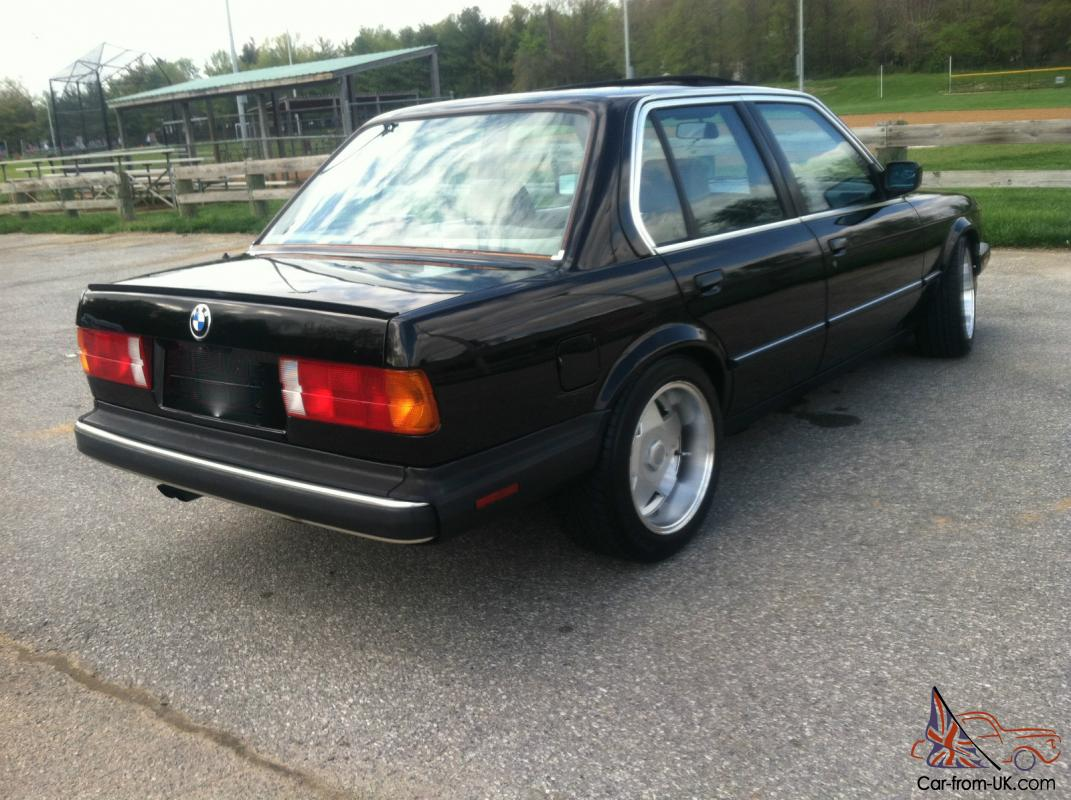 1987 Bmw 325i Is E30 4 Dr 5spd M52 Swap Real Clean