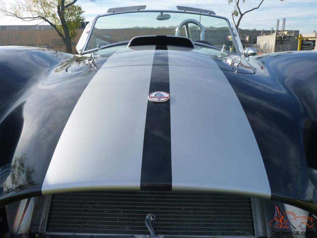 BLACK 2007 65 Shelby Cobra NEW PARTS Replica Roush Ford 302 Tremec T5 5  Speed
