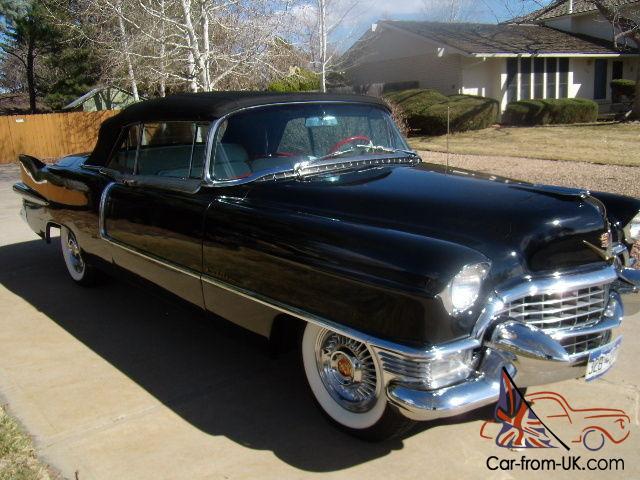 1955 Cadillac Eldorado Convertible  U0026quot Black Beauty U0026quot