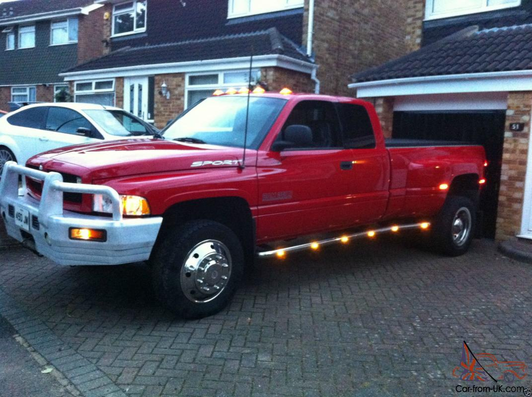 Dually Trucks For Sale >> Dodge Ram3500 1 Ton Dually 4x4 Automatic Sport Pick Up Truck