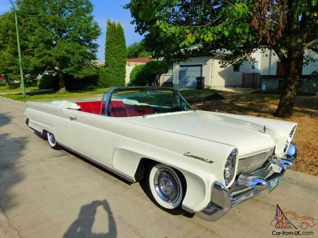 1958 Lincoln Continental Mark Iii Convertible 58 Mk