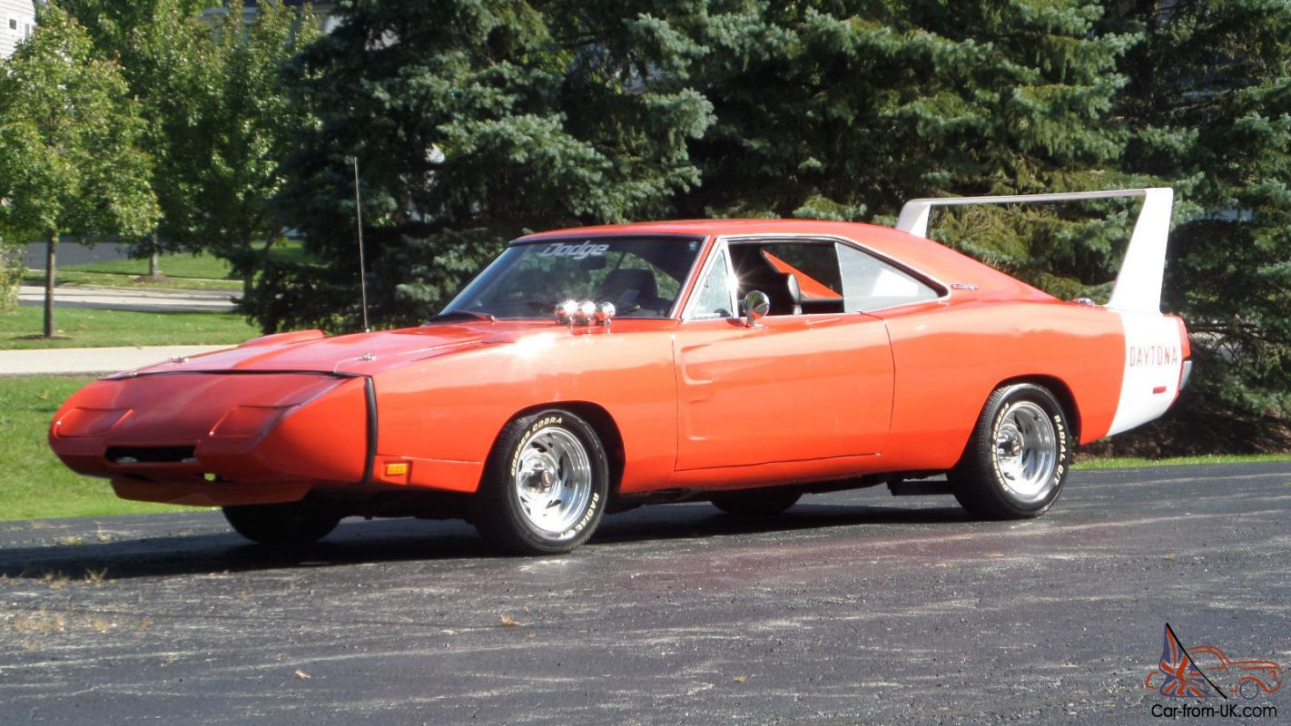 1969 Dodge Daytona 500 Restored Charger Hemi Orange Big Block Tribute See Video