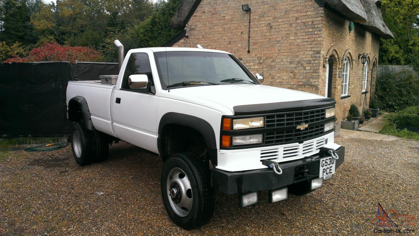 Chevrolet Pickup 3500hd 6 5 Turbo Diesel 4x4 Auto