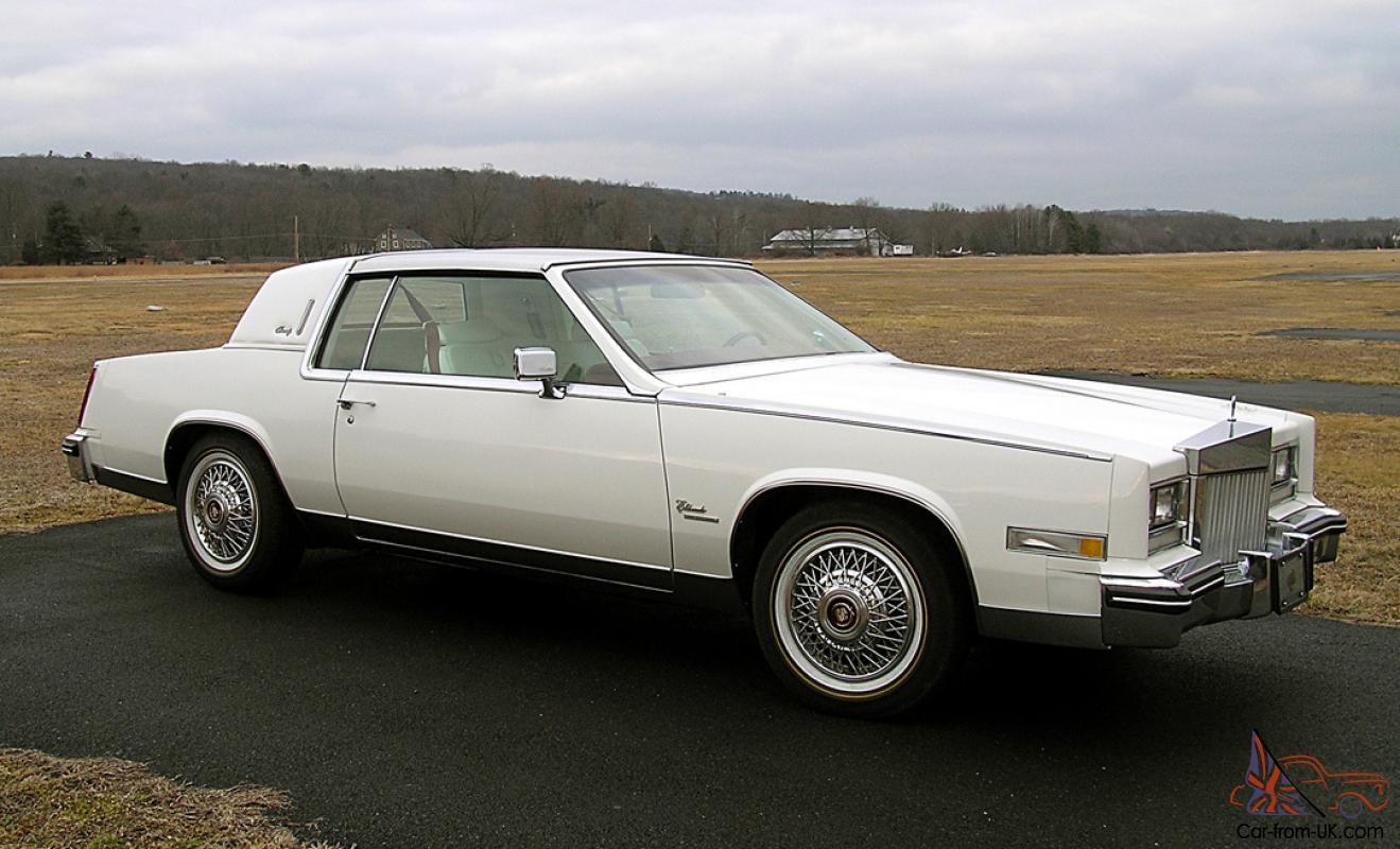 1979 Cadillac Eldorado Biarritz Coupe 2-Door 5 7L