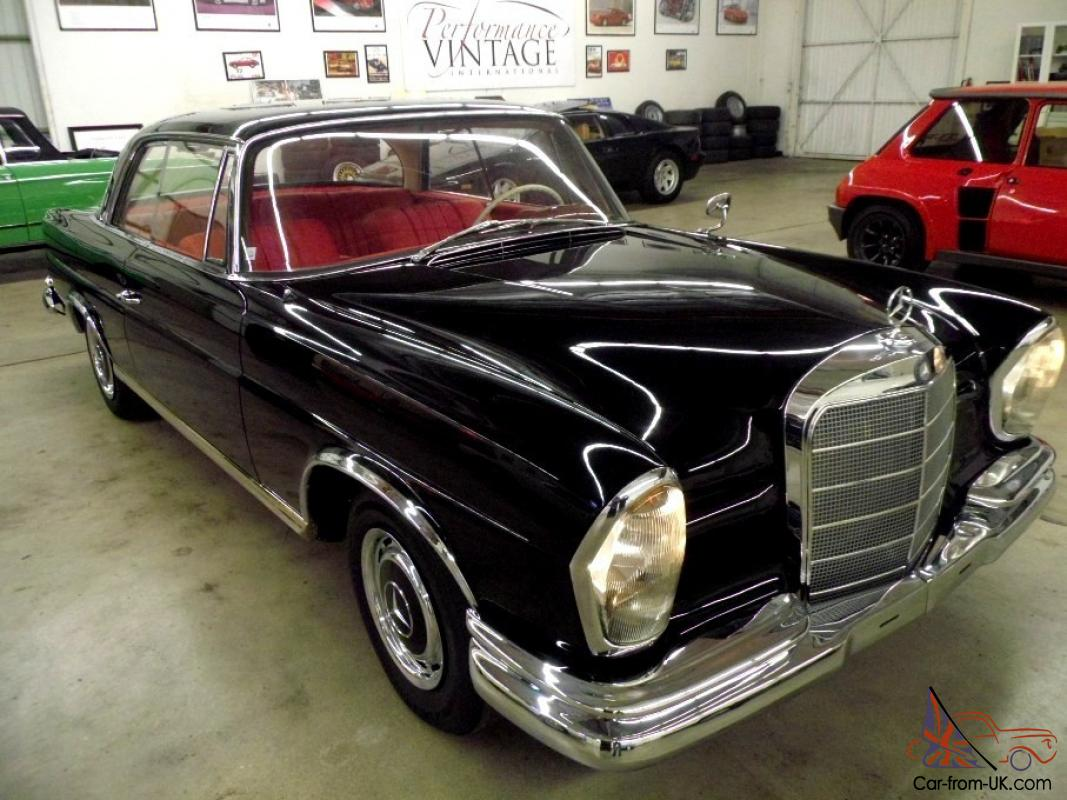 1963 Mercedes 220SE Coupe from Sunny Southern California