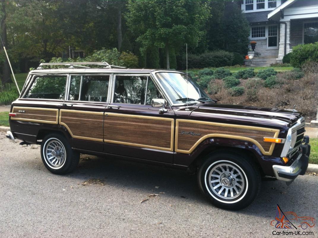1989 Jeep Grand Wagoneer Fresh Paint Brand New Tires Just Serviced