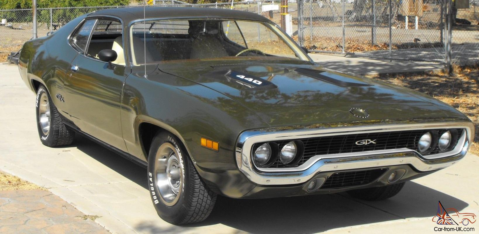 Mopar 1971 Plymouth Gtx With J68 Package Galen Govier
