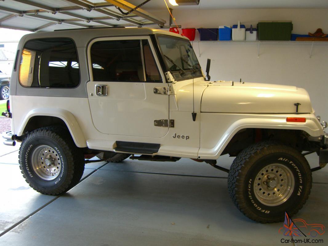 1989 Arizona Jeep 4x4 Wrangler Laredo Sale