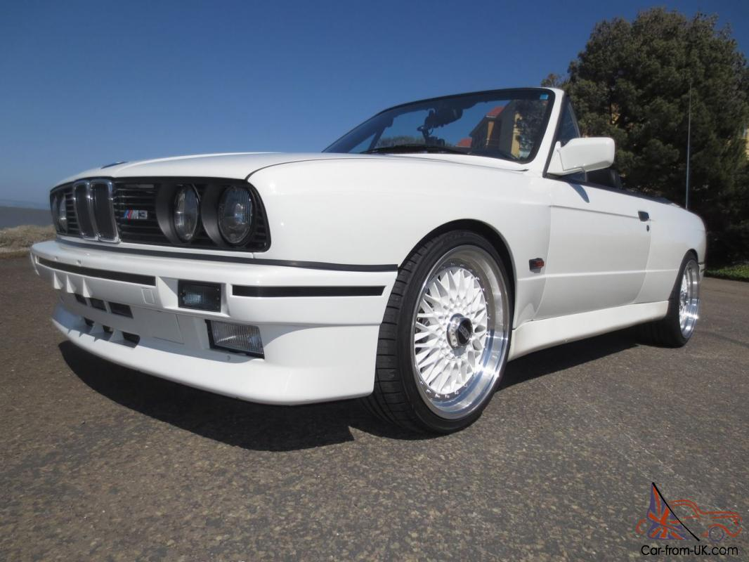 1989 Bmw 325ic Cabriolet E30 M3 Convertible Replica S50