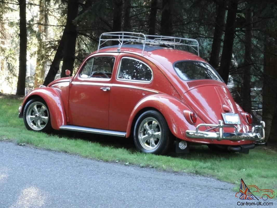 Vintage Volkswagen VW Rag top 1964 Beetle High Performance Engine Beautiful
