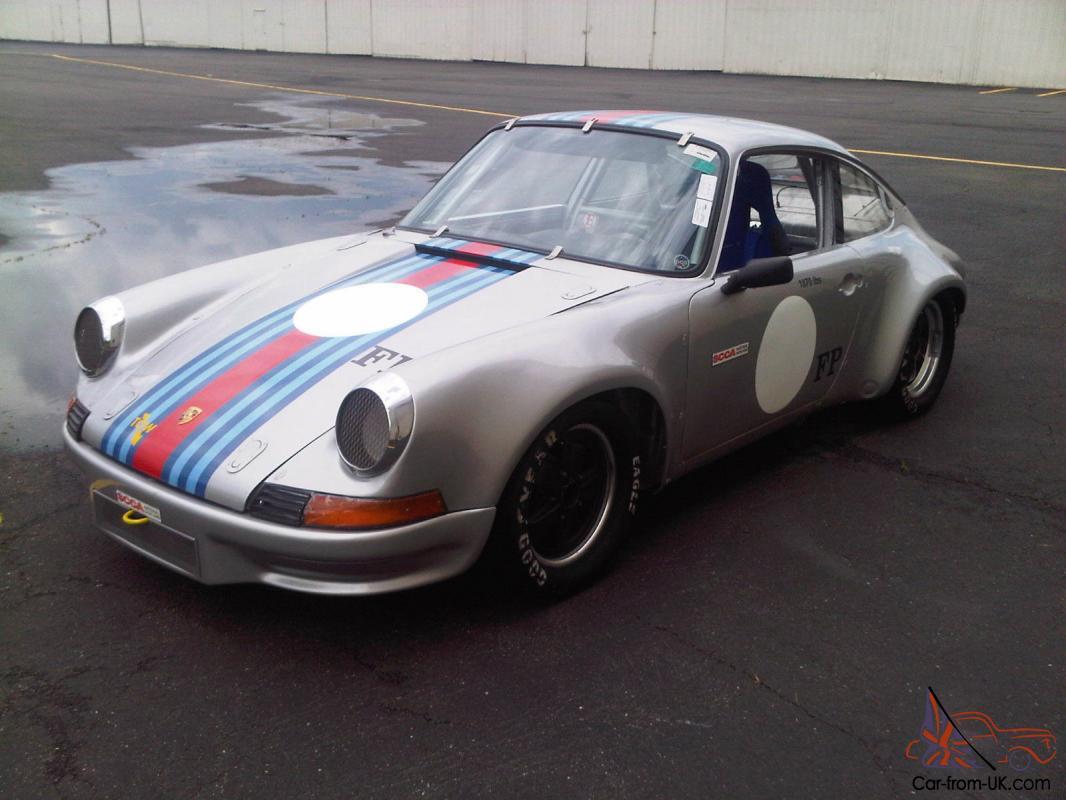Porsche 1969 911/912 Vintage Race SCCA PCA HSR SVRA Race History Turn Key