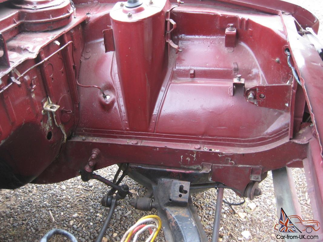 Genuine Mazda R100 Coupe Rolling Shell With 10A Parts ...