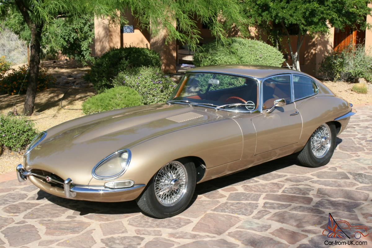 1964 Jaguar E Type Coupe. Absolutely Stunning! Rare color Combo!