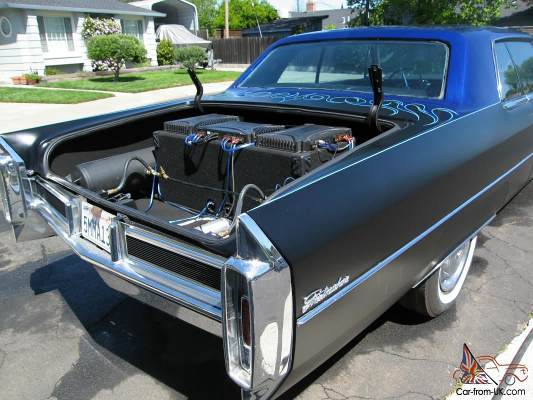 1965 Cadillac Coupe Deville Rebuilt 429 Airbags 10 Switches Loud U Finish