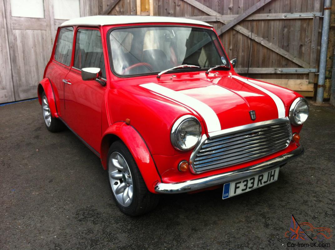 1989 Austin Mini Red Hot Red Addition With Sports Pack Tax