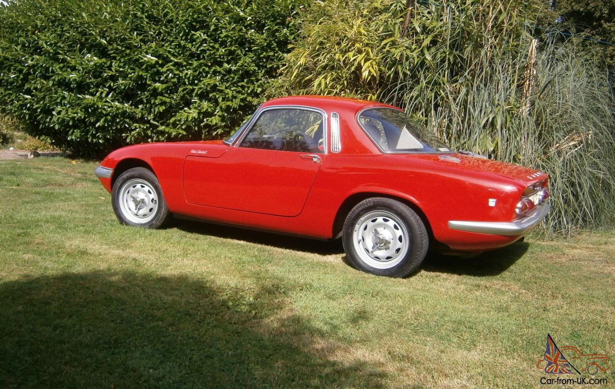 What To Do With Expired Car Seats >> Lotus Elan S3 FHC 1967