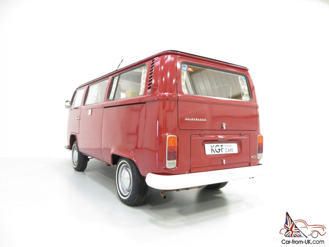 An Unrepeatable Type 2 Vw Camper Westfalia Campmobile With