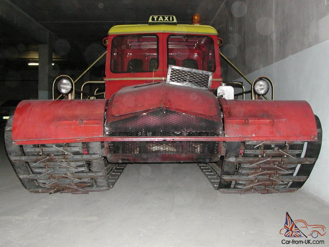 1968 Snow Trac Master St4b Vintage Snowmobile Atv Vw Very Rare