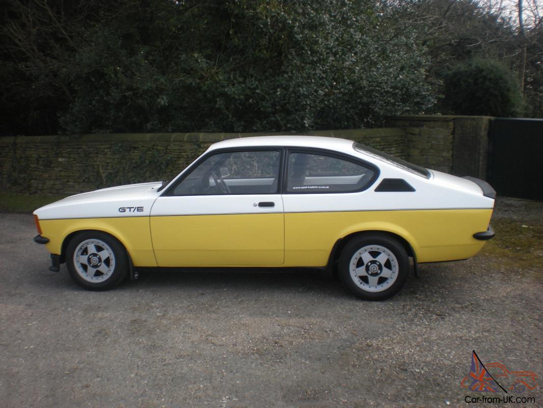 Opel Kadett C Coupe Gte Super Rare Classic