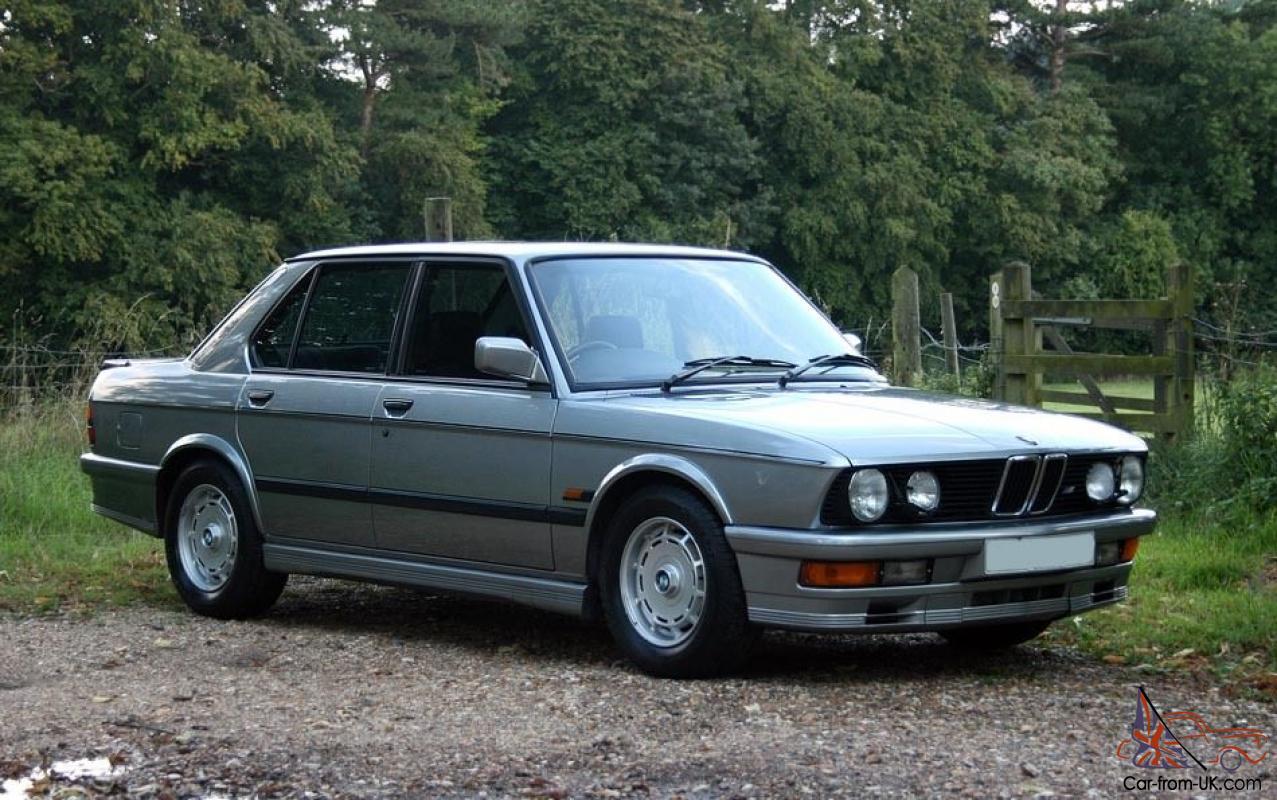 1987 Bmw M535i E28