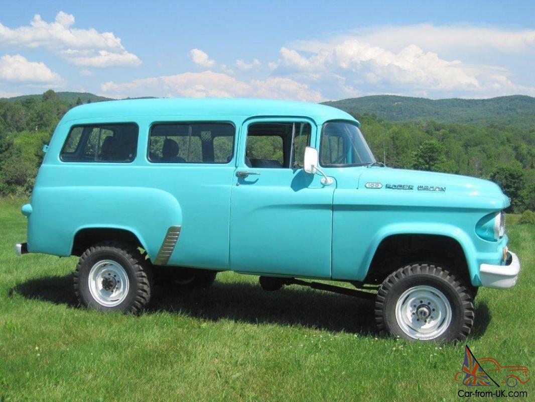 Dodge Power Wagon >> 1963 Dodge Power Wagon Town Wagon