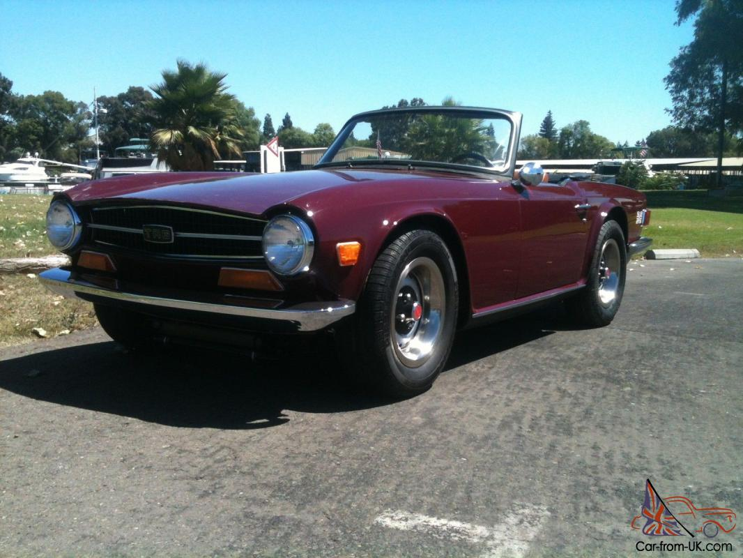1973 Triumph TR6, Just Completed Professional Ground Up Restoration