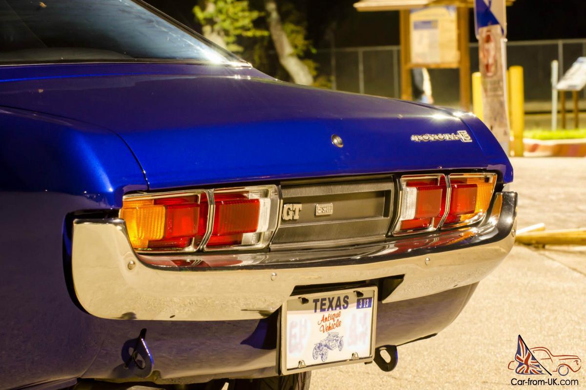 1974 Toyota Celica 18RG Twin Cam 2 0L