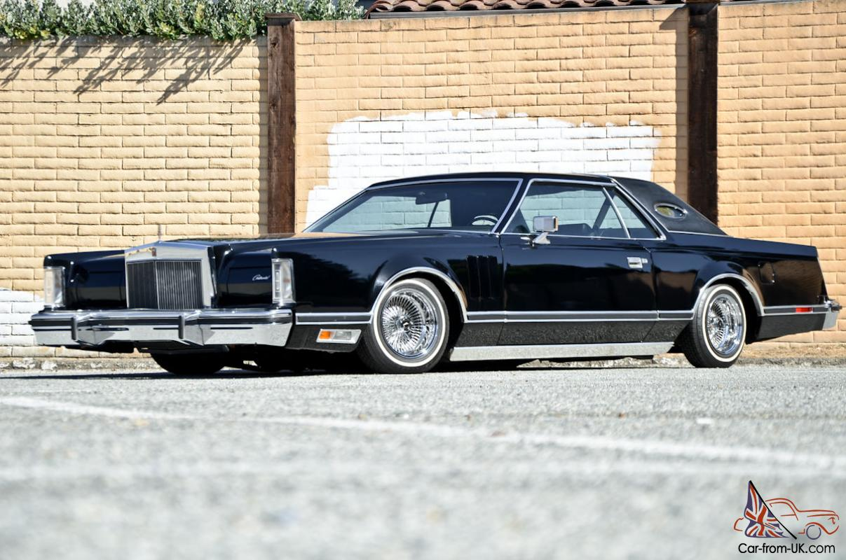 1979 Lincoln Continental Mk5 Slammed On Air Ride One Owner