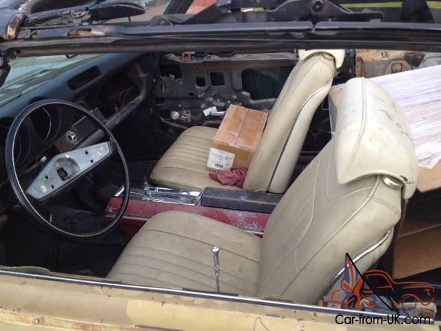1969 Olds Cutlass S convertible project car - clone 442 conv