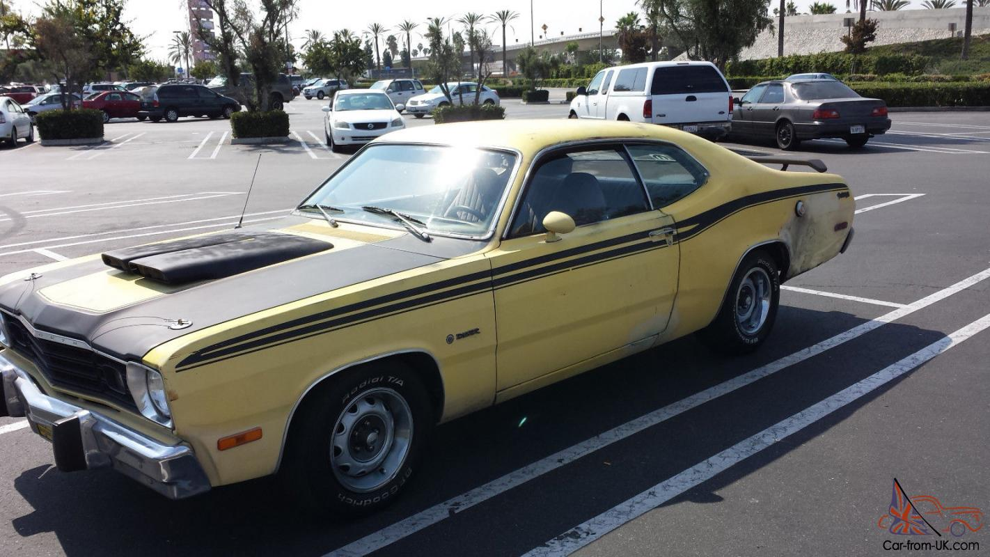 1973 Plymouth Duster Twister W/ Clifford High Performance Slant Six