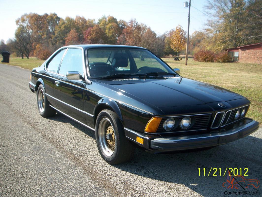 1985 Bmw 635csi Base Coupe 2 Door 3 5l Parts Car