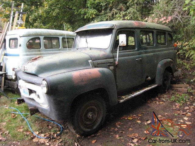 1956 1957 S Series International Travelall Wagon Panel