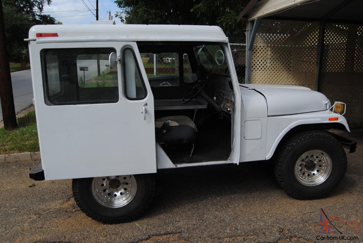 Right Hand Drive Jeep >> 1976 Am General Corp Right Hand Drive Dj5 Postal Jeep