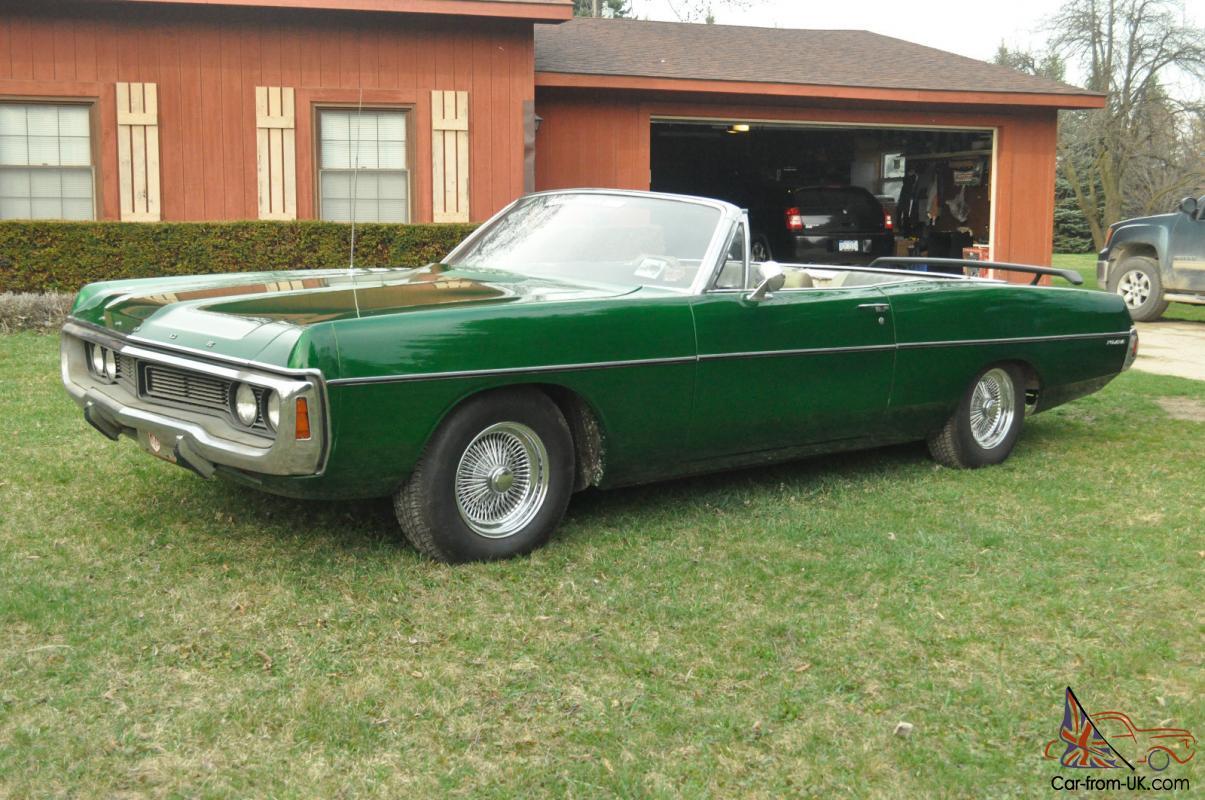 1970 Dodge Polara convertible