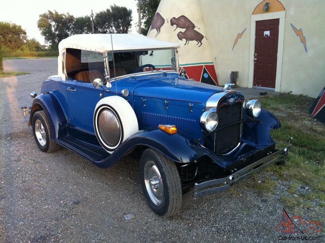 Glassic, Ford Other, Street Rod, replica, V8 Roadster, Fiberglass body, Kit  Car