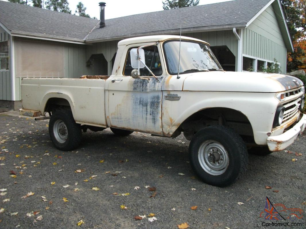 1966 Ford F250 4x4 Original Highboy 1961 1962 1963 1964 1965